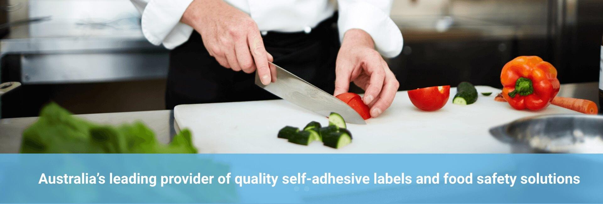 Food label stickers in Australia